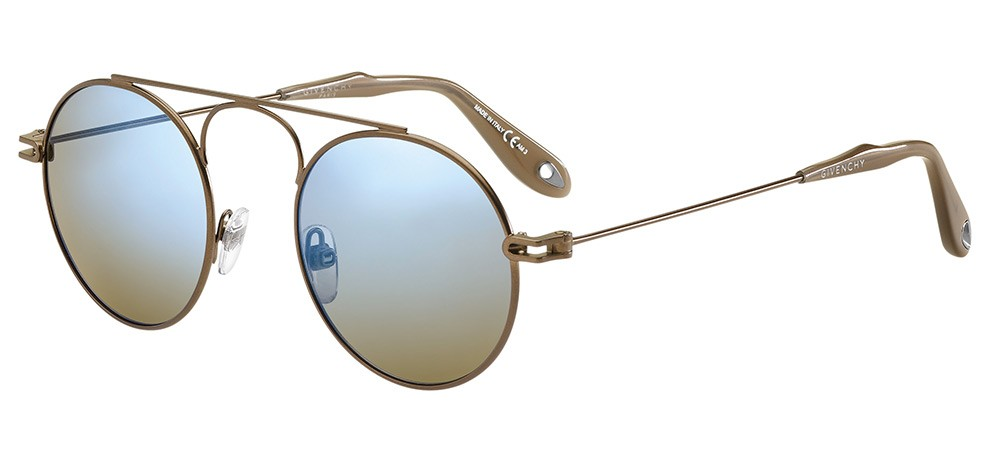 GIVENCHY Givenchy Sonnenbrille » GV 7054/S«, braun, 09Q/3U - braun/ blau