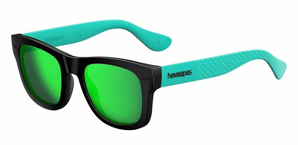 Havaianas Sonnenbrille » PARATY/M«, schwarz, QPX/Z9 - schwarz/grün