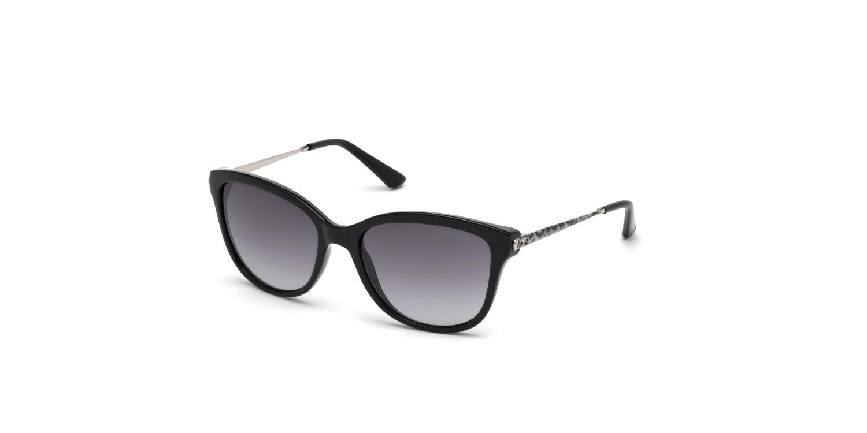 Guess GU7469 Sonnenbrille Schwarz glänzend 01B 56mm apooKtS