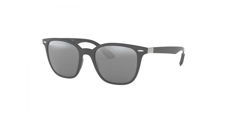 RAY BAN RAY-BAN Sonnenbrille » RB4297«, grau, 633288 - grau/silber
