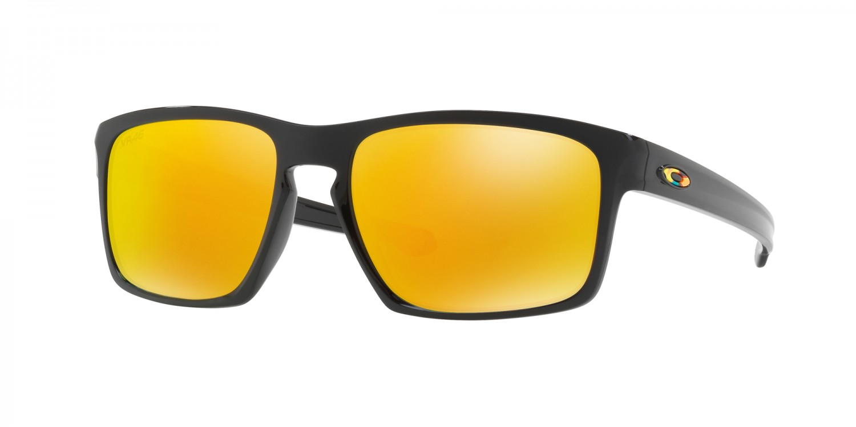 Oakley Sliver Sonnenbrille Schwarz glänzend OO9262-27 57mm ViTjJrhHfK