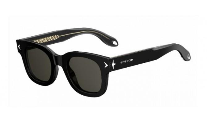 GIVENCHY Givenchy Sonnenbrille » GV 7037/S«, schwarz, Y6C/E4 - schwarz/braun