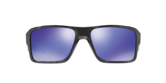 Oakley Double Edge Iridium Sonnenbrille Schwarz/Lila ojmrqEmHD