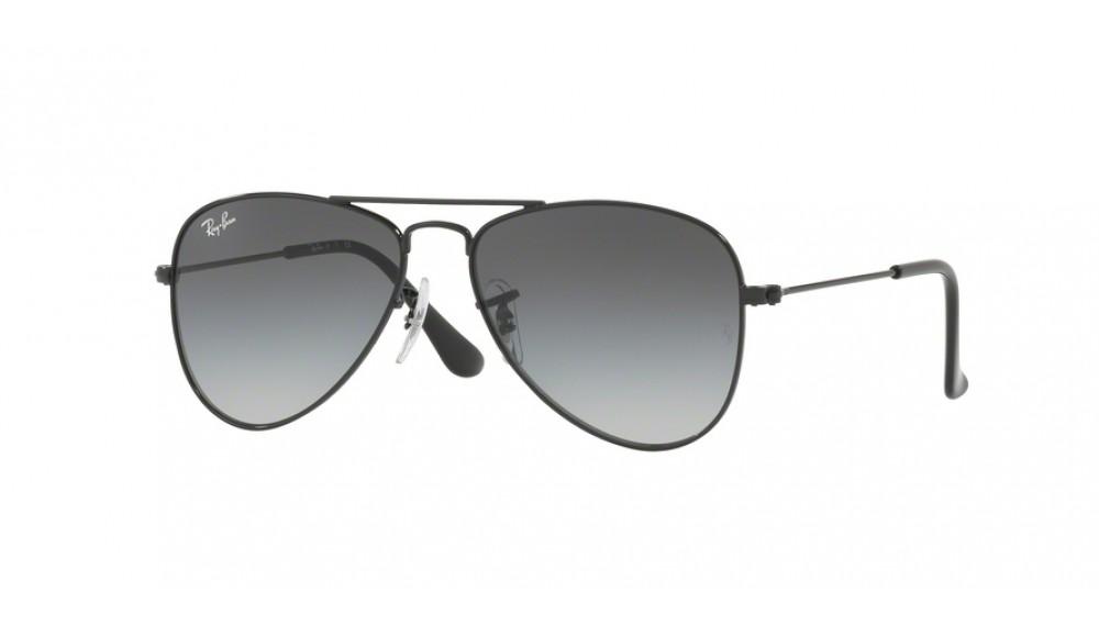 Ray-Ban Junior RJ9506S Sonnenbrille Schwarz glänzend 220/11 50mm weLDNTMWX